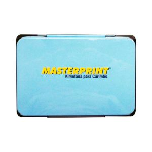 Almofada Para Carimbo Nº3 Preto - Masterprint MP773