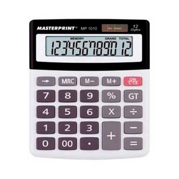Calculadora Eletrônica - Masterprint MP1010 | 12 Dígitos