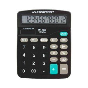 Calculadora Eletrônica - Masterprint MP1086 | 12 Dígitos