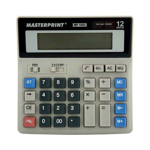 Calculadora Eletrônica - Masterprint MP1093 | 12 Dígitos