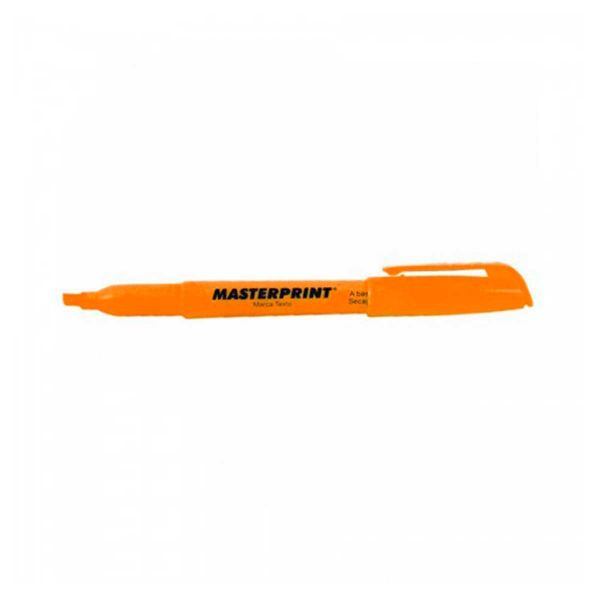 Caneta Marca Texto Laranja - Masterprint MP612