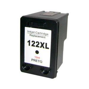 Cartucho de Tinta Compatível HP 122XL - Preto