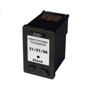 Cartucho de Tinta Compatível HP 21 / 27 / 56 - Preto