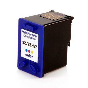 Cartucho de Tinta Compatível HP 22 / 28 / 57 - Colorido