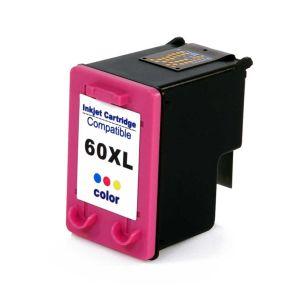 Cartucho de Tinta Compatível HP 60XL - Colorido