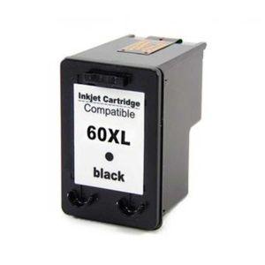 Cartucho de Tinta Compatível HP 60XL - Preto