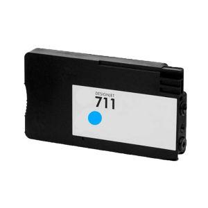 Cartucho de Tinta Compatível HP 711 (CZ130A) - Ciano