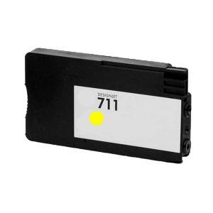 Cartucho de Tinta Compatível HP 711 (CZ132A) - Amarelo