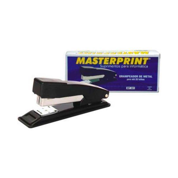 Grampeador de Metal - Masterprint MP300 | 20 folhas