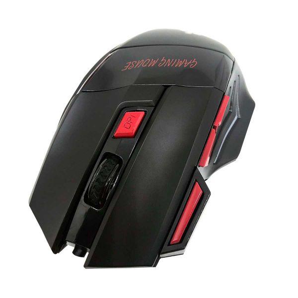 Mouse Gamer Evolut USB Preto/LED EG-101