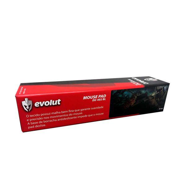 Mousepad Gamer Evolut EG-402 BL - Azul