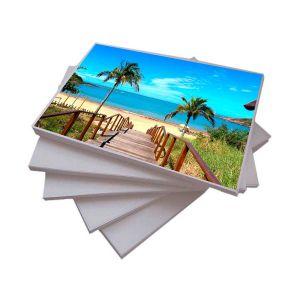 Papel Adesivo Fotográfico A4 130 g/m² Glossy - 20 Folhas