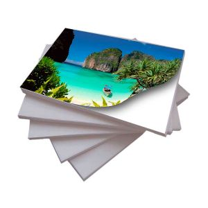 Papel Adesivo Fotográfico A4 130 g/m² Glossy - 50 Folhas