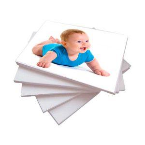 Papel Foto Premium Microporoso A4 260 g/m² Fosco 20 Folhas