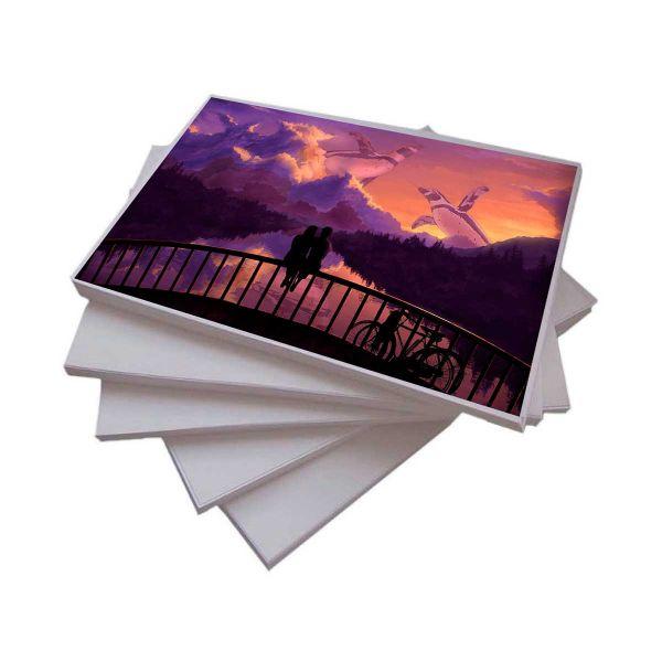 Papel Fotográfico A4 108 g/m² Matte - 100 Folhas