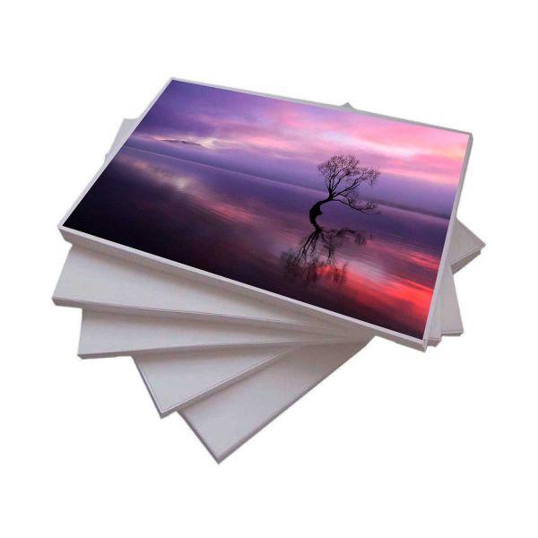Papel Fotográfico A4 115 g/m² Glossy - 50 Folhas