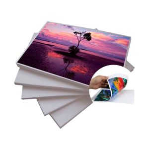 Papel Fotográfico Dupla Face A4 120 g/m² Glossy - 50 Folhas