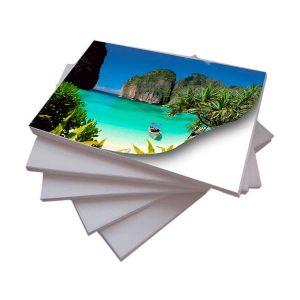 Papel Adesivo Fotográfico A4 108 g/m² Glossy - 20 Folhas