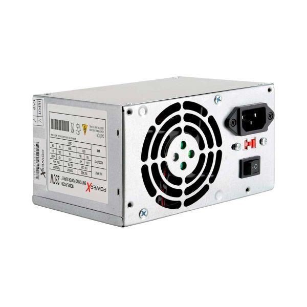 Fonte PowerX 230W ATX Com Cabo OEM - PX-230