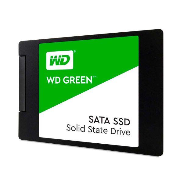 SSD WD Green 120GB Leitura 545MB/s Gravação 430MB/s