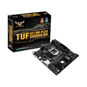 Placa Mâe Asus TUF H310M-Plus Gaming/BR - LGA 1151 DDR4 mATX