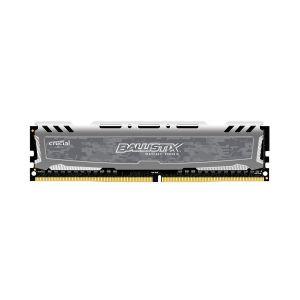 Memória Crucial Ballistix Sport LT 8GB 2666MHz DDR4 CL16 Cinza - BLS8G4D26BFSBK