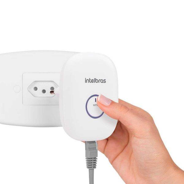 Repetidor Extensor Intelbras 300Mbps Wi-Fi IWE-3000N
